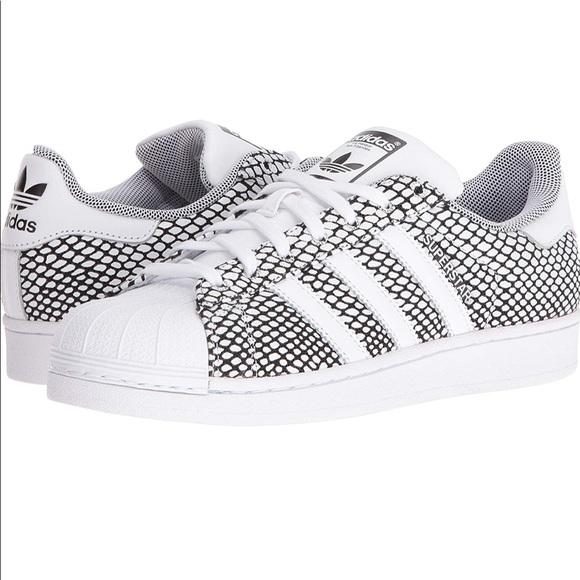 Adidas Superstar II Snake Pack BlackWhite